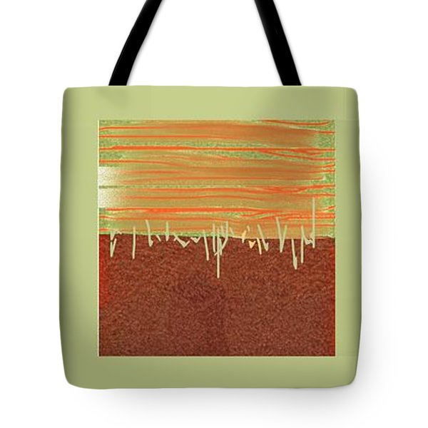 Three Squares Tote Bag by Nedunseralathan R