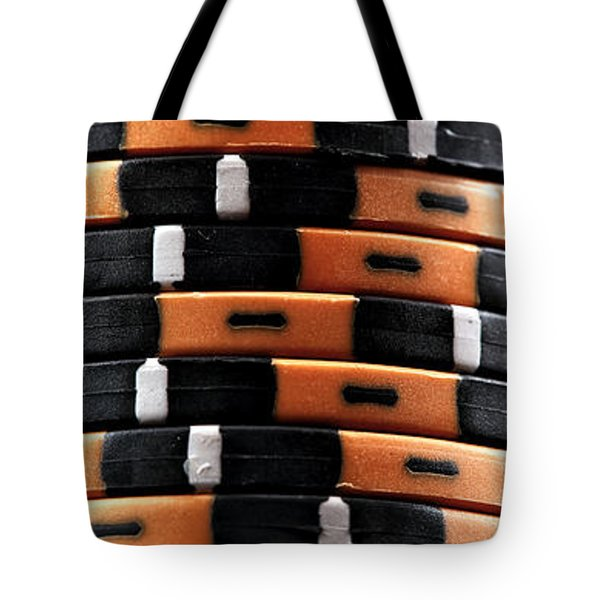 Three Stacks Tote Bag by John Rizzuto