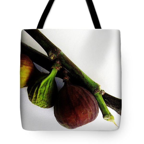 Three Stages Till Fully Ripe Tote Bag by Tina M Wenger