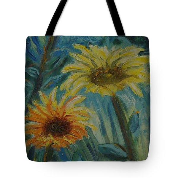 Three Sunflowers - Sold Tote Bag