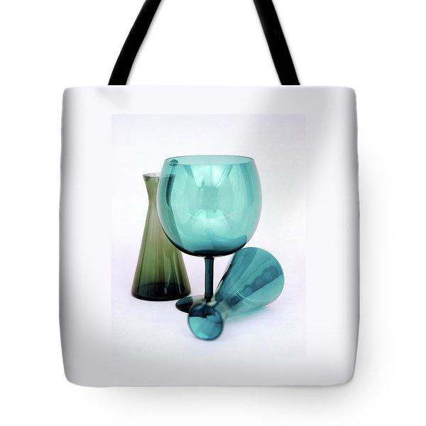 Three Venini Glasses Tote Bag
