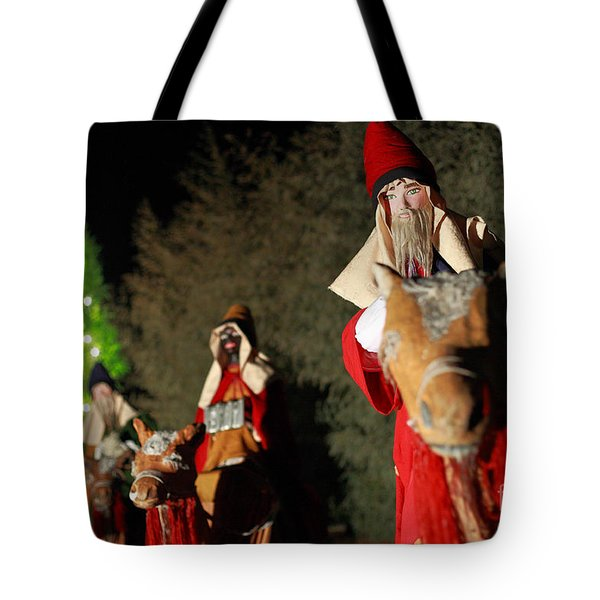 Three Wise Men Tote Bag by Gaspar Avila