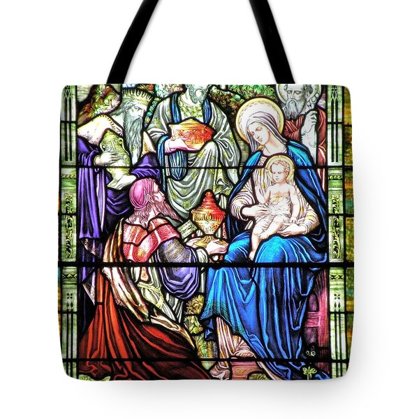 Three Wise Men - Visitation Of The Magi Tote Bag