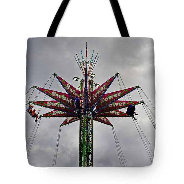 Thrill Tower Tote Bag by Skip Willits