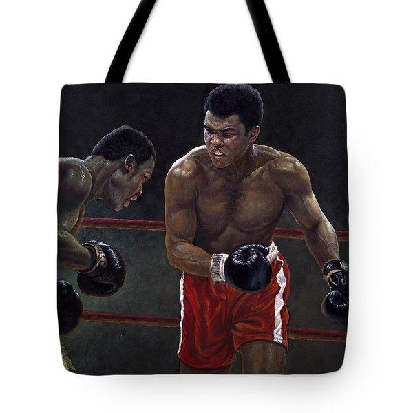 Thrilla In Manilla Tote Bag