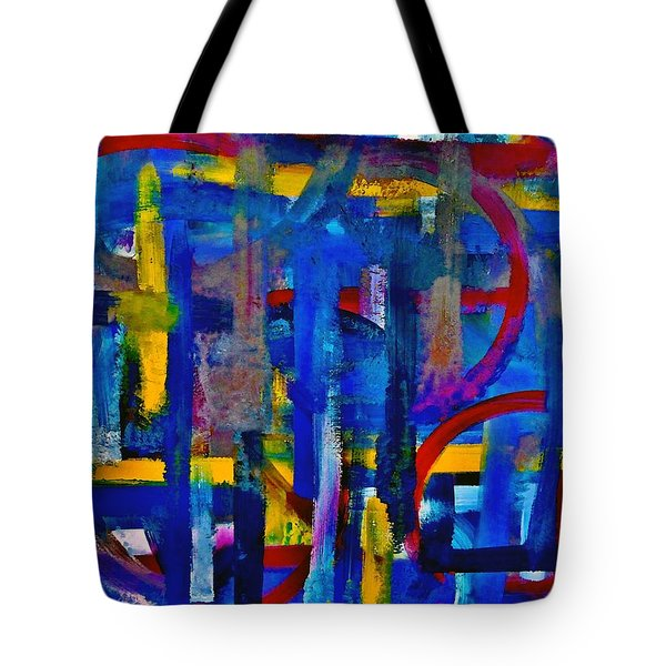 Anchored In Art Tote Bag by Lisa Kaiser