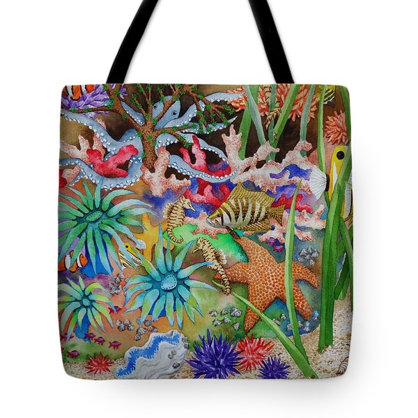 Thriving Ocean - Octopus Tote Bag by Katherine Young-Beck