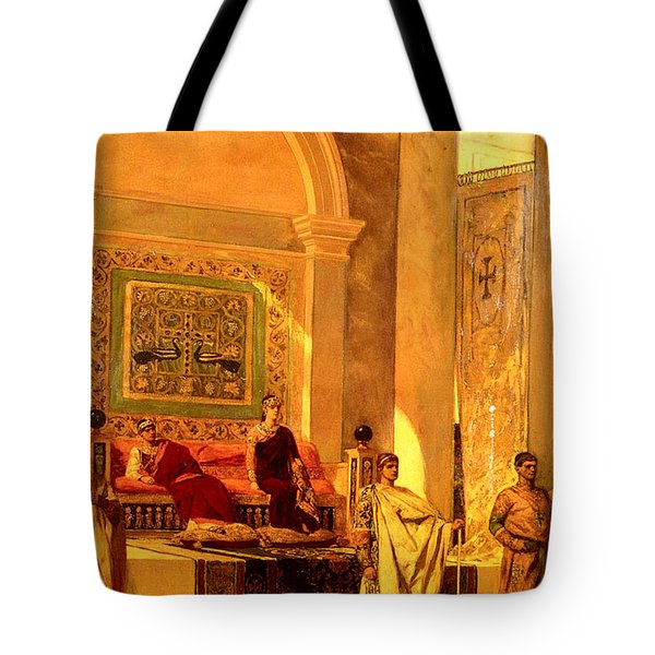 Throne Room Of Byzantium Tote Bag