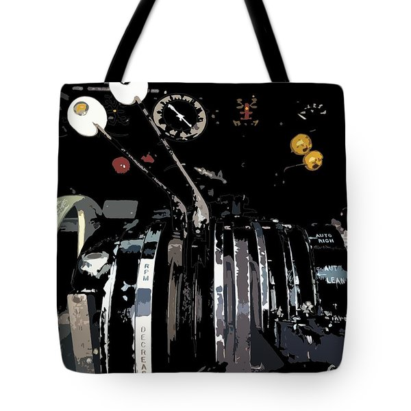 Throttles Tote Bag by Julio Lopez