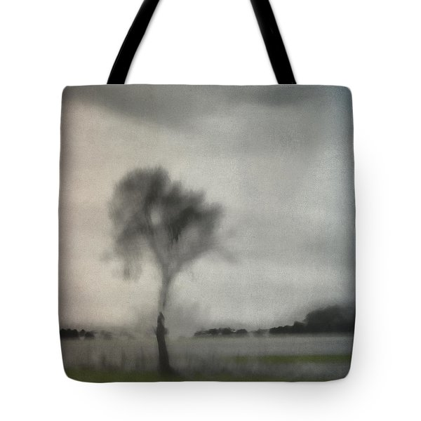 Through A Train Window Number 2 Tote Bag by Carol Leigh