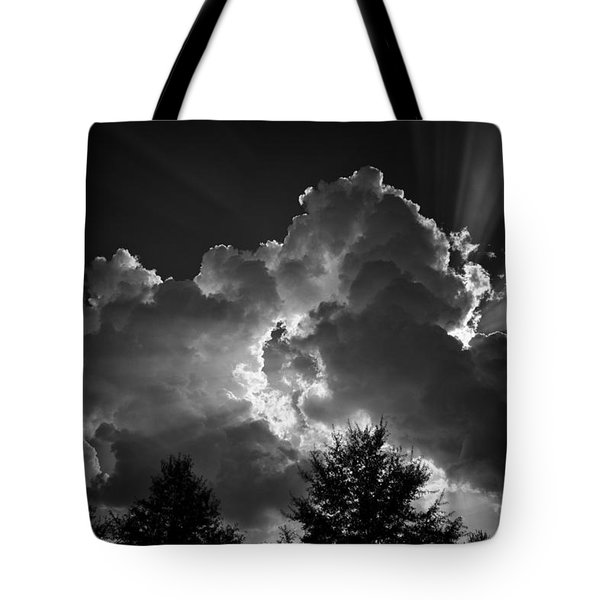 Tote Bag featuring the photograph Through And Through by Ben Shields