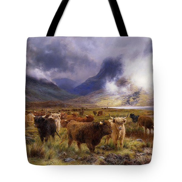 Through Glencoe By  Way To The Tay Tote Bag