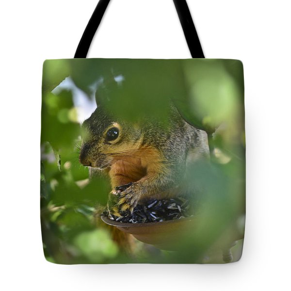 Through The Althea Tote Bag by Allen Sheffield