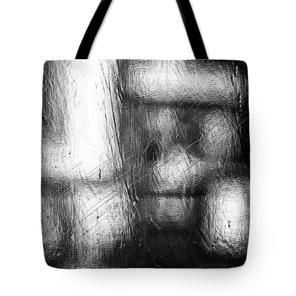 Through The Curtain  Tote Bag