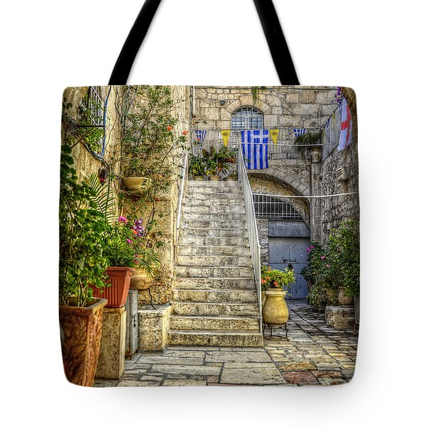 Through The Doorway Tote Bag