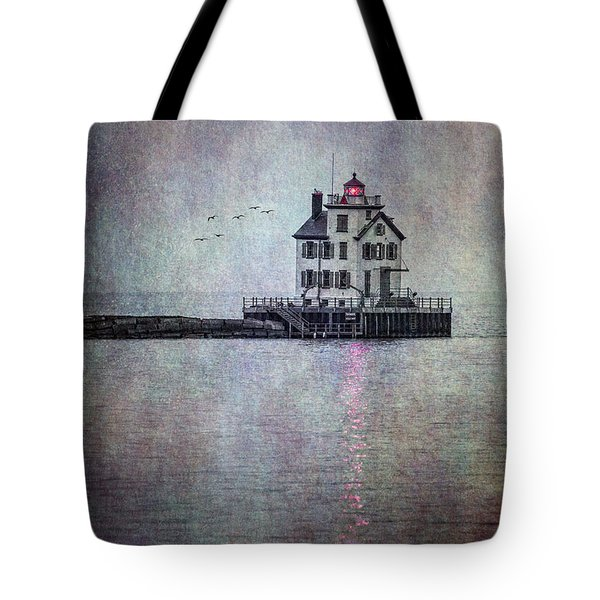 Through The Evening Mist Tote Bag