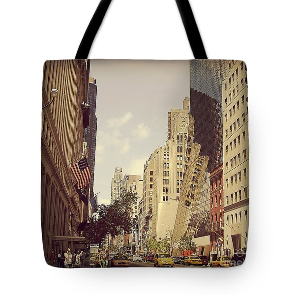 Through The Faded Looking Glass Tote Bag