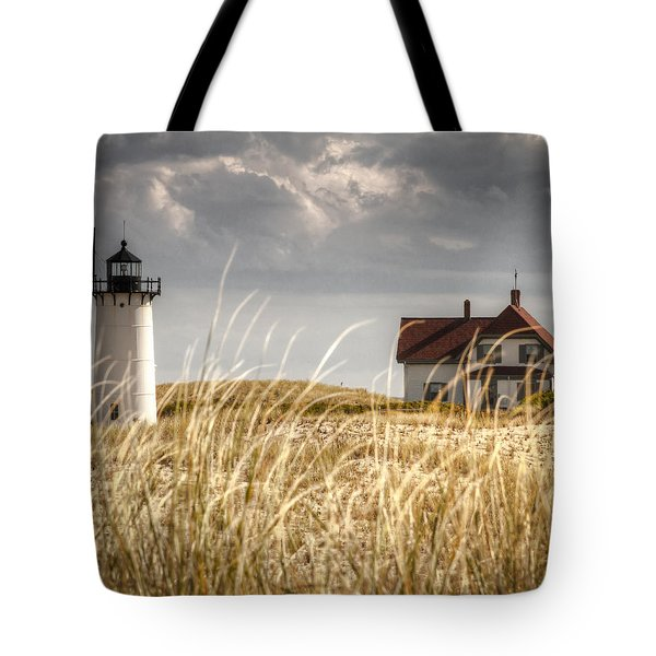 Race Point Light Through The Grass Tote Bag