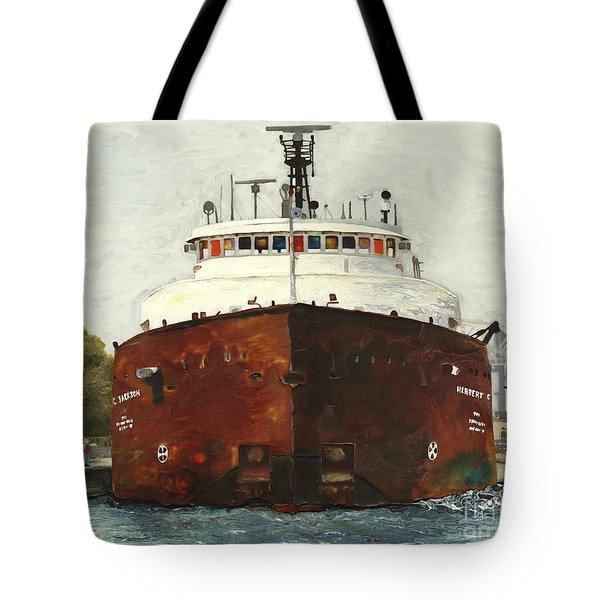 Through The Locks - Herbert C. Jackson Tote Bag