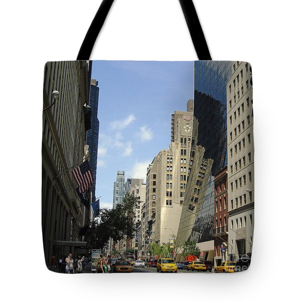 Tote Bag featuring the photograph Through The Looking Glass by Meghan at FireBonnet Art