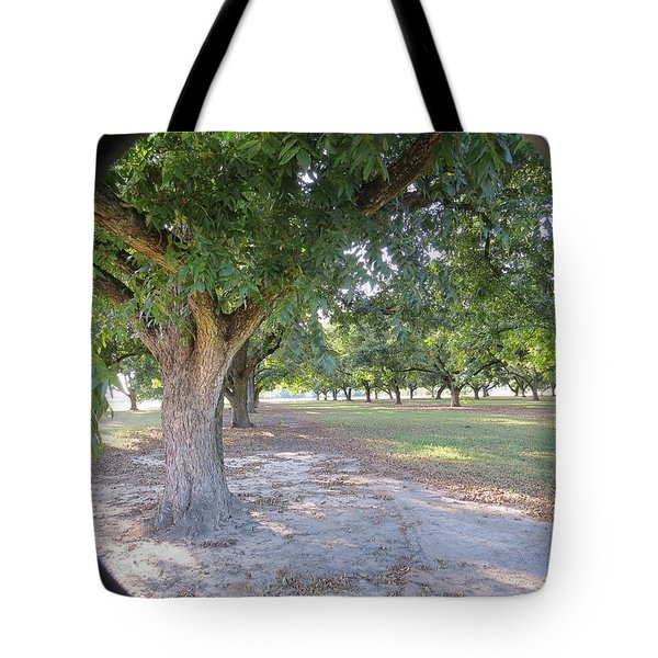 Through The Orchard Tote Bag