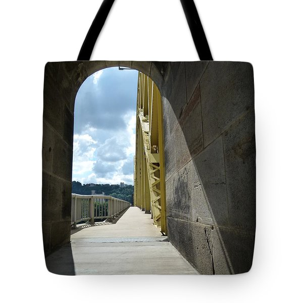 Through The Portal Tote Bag