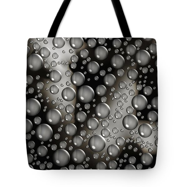 Through The Shower Door Tote Bag by Donna Blackhall