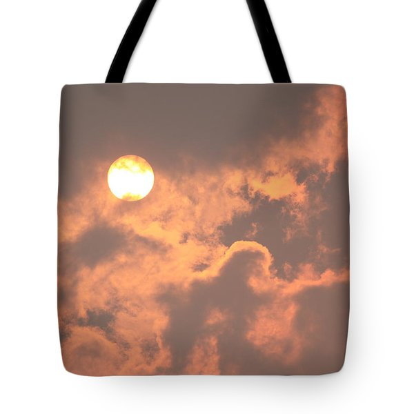 Tote Bag featuring the photograph Through The Smoke by Melanie Lankford Photography