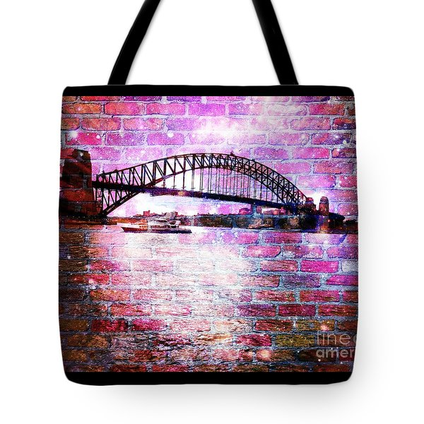 Sydney Harbour Through The Wall 1 Tote Bag