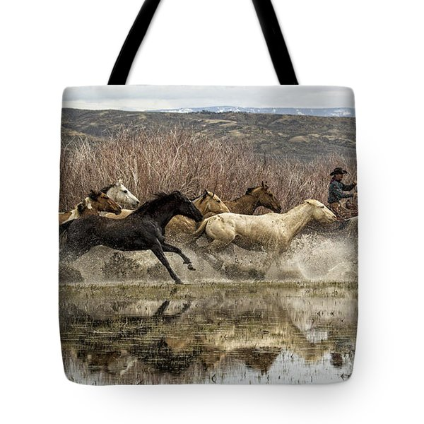 Through The Water II Tote Bag