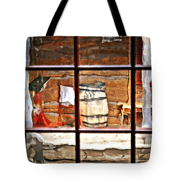 Through The Window Tote Bag by Marty Koch