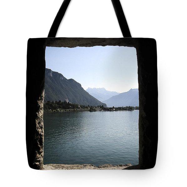 Through The Windows Tote Bag