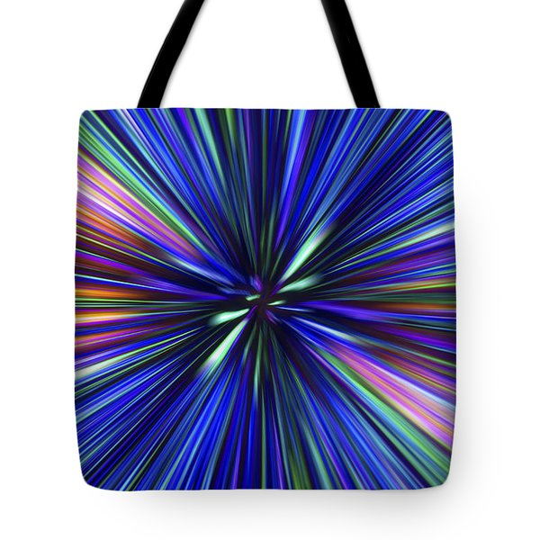 Through The Wormhole.. Tote Bag