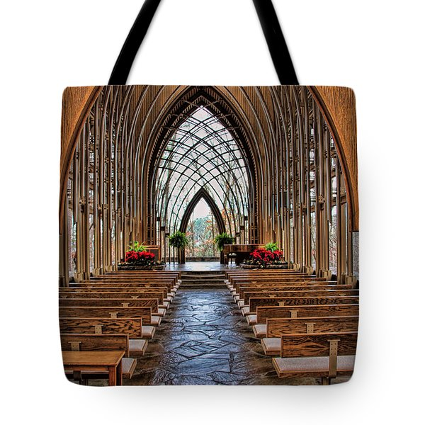 Through These Doors Tote Bag
