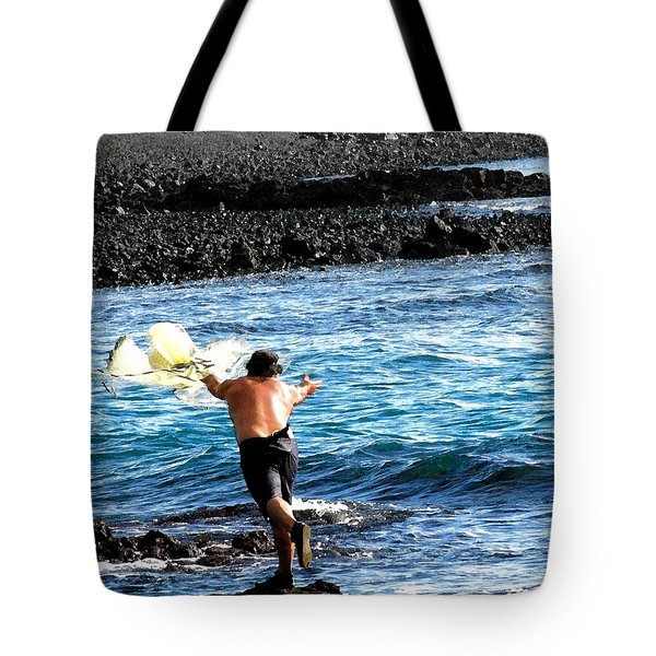 Throw.... Tote Bag by Lehua Pekelo-Stearns