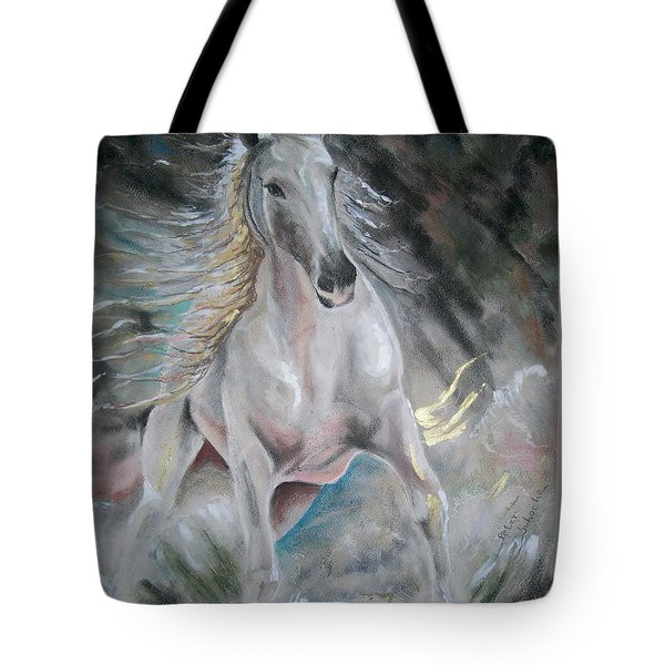 Thrusting Out Tote Bag