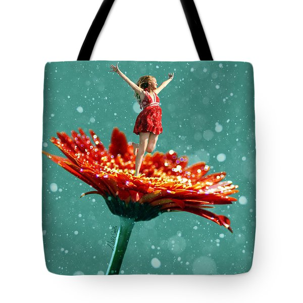 Thumbelina All Grown Up Tote Bag by Nikki Marie Smith