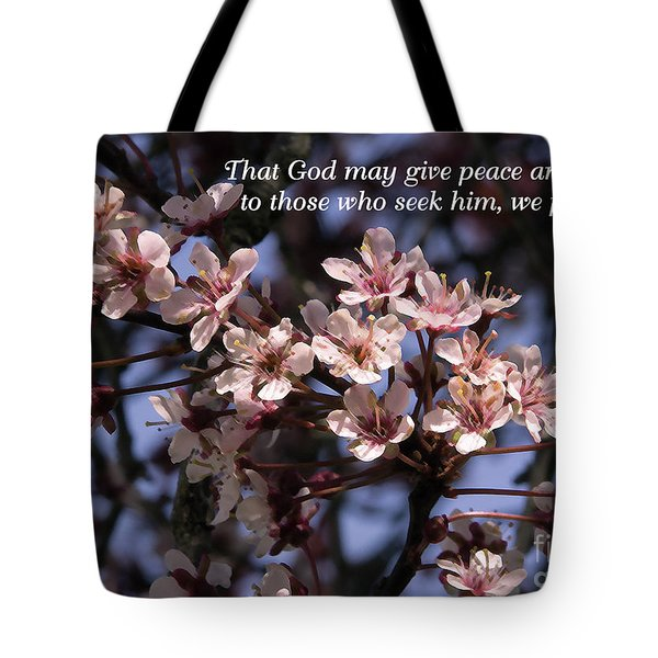 Tote Bag featuring the photograph Thunder Cloud Prayer by Jean OKeeffe Macro Abundance Art