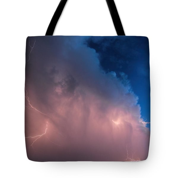 Thunder God Approaches Tote Bag