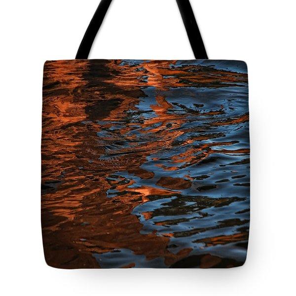 Thunder N Lightning Tote Bag by Donna Blackhall