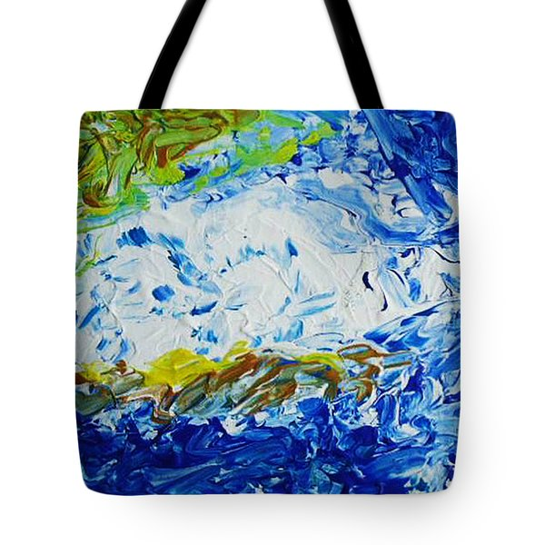 Thunder Of The Sea Tote Bag