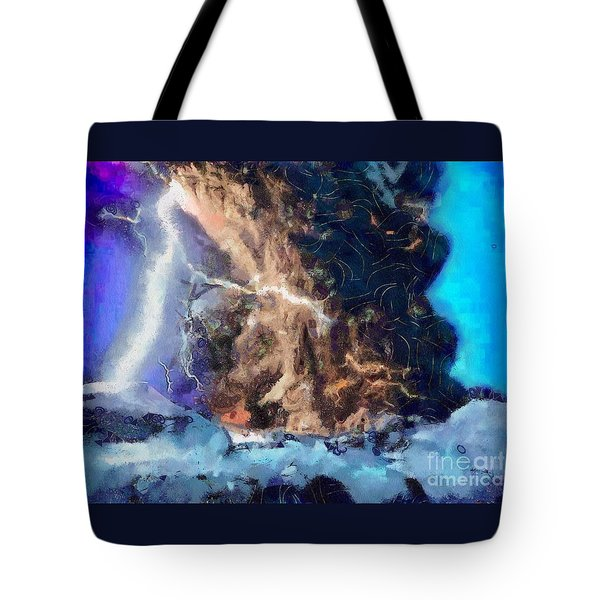 Thunder Struck Tote Bag