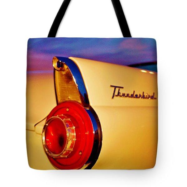 Thunderbird Tote Bag by Daniel Thompson