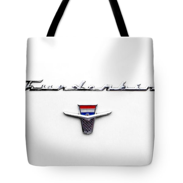 Thunderbird Tag Tote Bag by Jerry Fornarotto