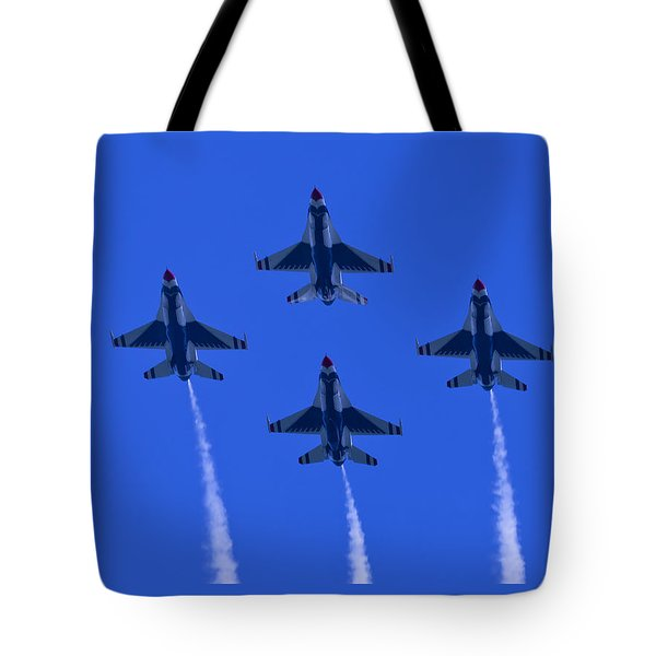 Thunderbirds Diamond Formation Undersides 2 Tote Bag