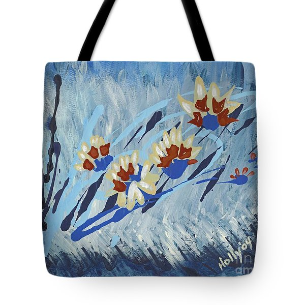 Thunderflowers Tote Bag