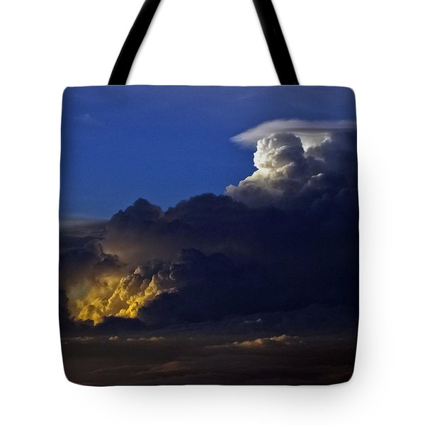 Tote Bag featuring the photograph Thunderstorm II by Greg Reed