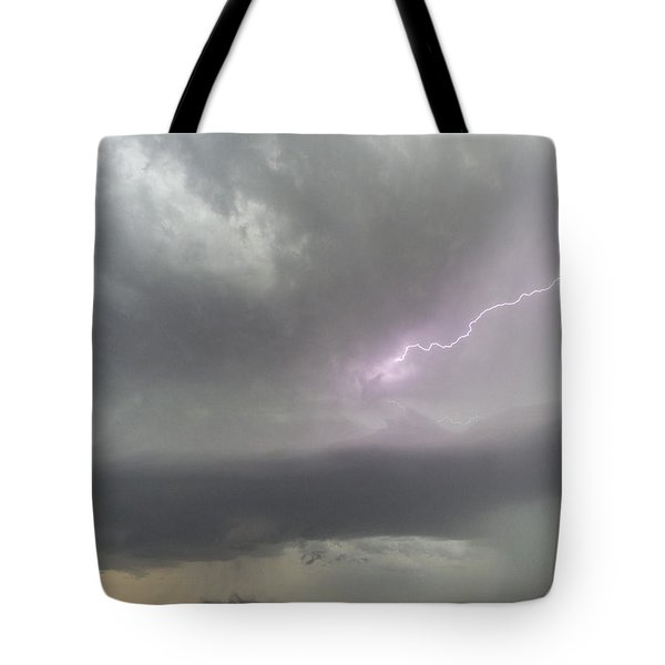 Tote Bag featuring the photograph Thunderstorm by Rob Graham