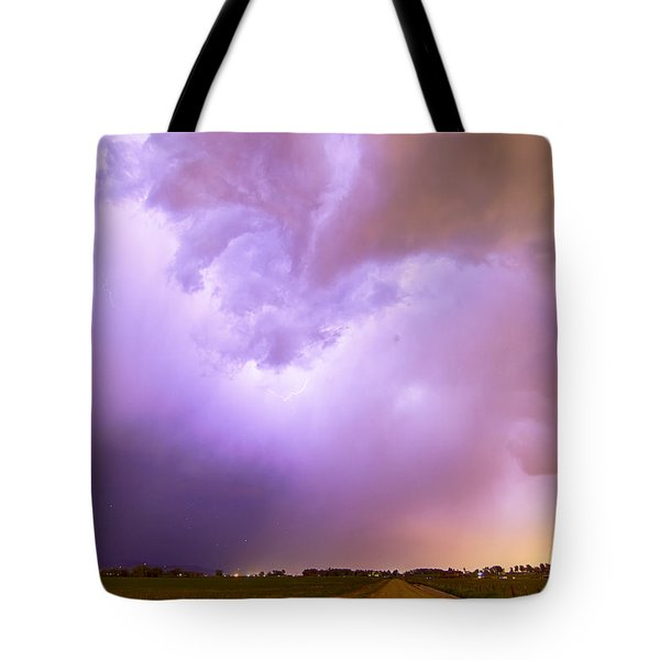 Thunderstorm Tidal Wave Tote Bag by James BO  Insogna