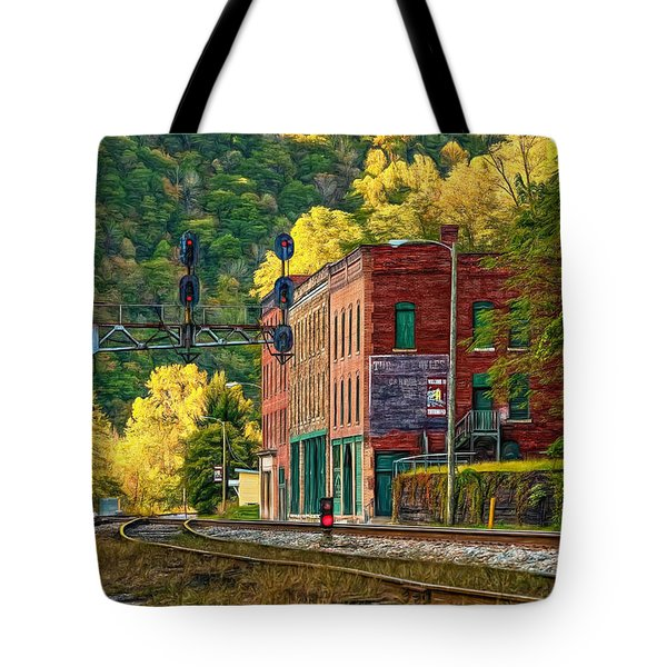Thurmond Wv - Paint Tote Bag